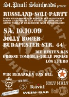 Flyer Russland - Soli - Party