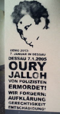 oury jalloh stencil